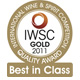 2011 INTERNATIONAL WINE & SPIRITS COMPETITION AC12 (GOLD BEST IN CLASS)