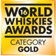 World Whisky Awards 2016 - Blended Scotch Aged 21 & Over (Gold)